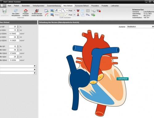 cardWorks – Dokumentationssystem für das Herzkatheterlabor